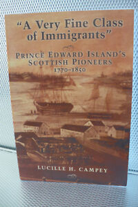 PRINCE EDWARD ISLAND'S SCOTTISH PIONEERS 1770-1850