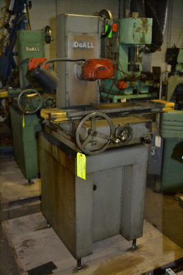 6 X 12 Doall Dh612 Hand-feed Horizontal-spindle Surface Grinder - 25805