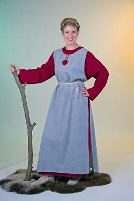 Wikingerin Wikinger Frau Kleid Keltin Wirtin Karneval Kostüm Mittelalter neu (Wikinger Frau Kostüm)