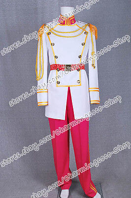 Cinderella Prince Charming Cosplay Costume Outfits High Quality And Comfortable  (Prince Charming And Cinderella Costumes)