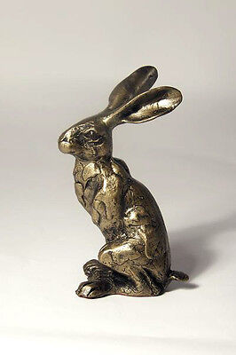 'Huey Hare'  Beautiful Bronze Animal Sculpture ornament by Paul Jenkins - Frith