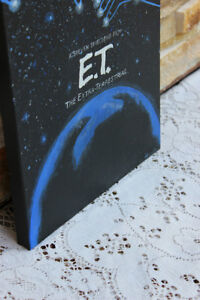 Original E.T. Movie Poster Painting on Canvas West Island Greater Montréal image 3