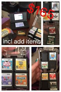 DS games and accessories