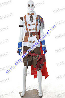 Final Fantasy XIII Lightning Cosplay Costume Uniform Halloween Full Set Outfit