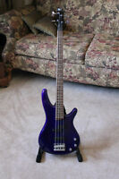 *MINT* CONDITION IBANEZ BASS GUITAR!!! (PRUSSIAN-BLUE)