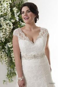 Calista wedding dress size 14-18