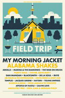 1 Weekend Pass to Field Trip Music Festival - $110