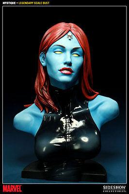 Sideshow Collectibles Marvel X-Men Mystique Legendary Scale Bust Statue