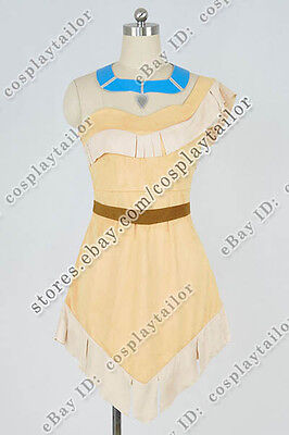 Pocahontas Cosplay Princess Costume Sexy Luxury Dress Comfortable To Wear New