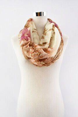 New Style Animal Print Infinity Scarf for Spring/Summer/Fall