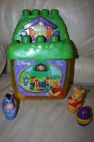 Pooh tree house legos