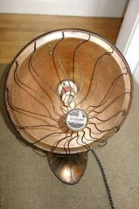 Vintage Early 1900's CDN. GE 'HOTPOINT' Portable Copper Heater