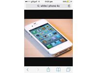 I phone 4s unlocked 32gb White