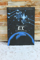 Original E.T. Movie Poster Painting on Canvas