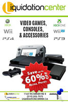 LIQUIDATION CENTER - VIDEO GAMES, ACCESSORIES AND CONSOLES