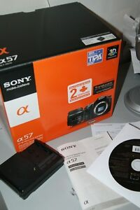 Sony Slt A57 camera with Tamron 18-200mm Lens