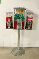 SELLING 3-heads BEAVER VENDING MACHINE or WITH TOYS-MACHINE