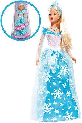 Simba Steffi Love Ice Princess Ankleidepuppe Modepuppe Puppe Prinzessin Eis Blau