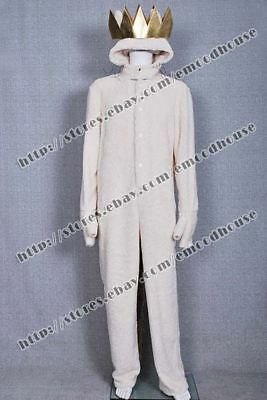 Where the Wild Things Are Wolf Max Records Cosplay Costume Cute Halloween Outfit - Wild Things Max Costume
