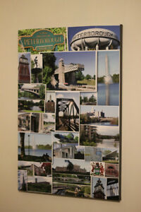 "Peterborough Collage Canvas 20""x30""  Photos City of Peterborough Peterborough Peterborough Area image 1"
