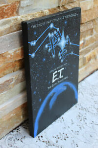 Original E.T. Movie Poster Painting on Canvas West Island Greater Montréal image 2