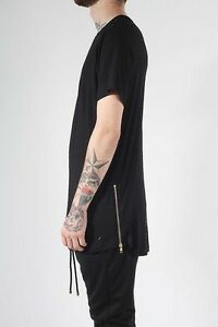 ADYN black side zip tee size M