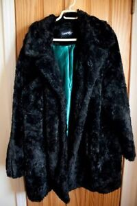 Beautiful Plus-Size Faux Fur Winter Jacket, 3x