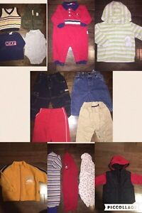 Baby Boy 6 Month Clothes - Large Lot