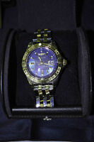 Gold and Stainless Steel Breitling watch -Galactic 41 model