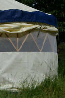 12' Portable Yurt by Clean Air Yurts (non-vinyl)