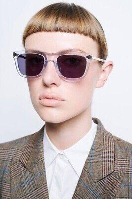 Karen Walker Voltaire Sunglasses BNWT - Crystal Grey - RRP $265AUD