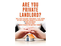 Landlords for East European Tenants needed!