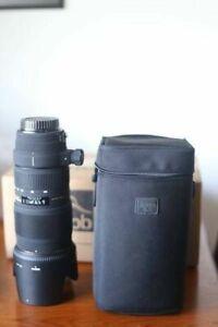 Sigma 70-200 mm pour Canon