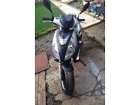50cc jonway madness moped