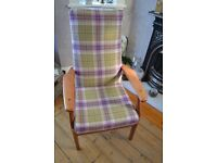 Restored Parker Knoll High Back Chair