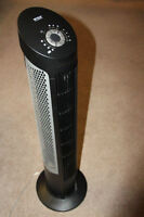2 vertical fans (tower) from COSTCO