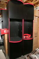 Upright Cabinets  five available