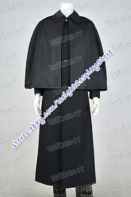 Sherlock: The Abominable Bride Sherlock Holmes Cosplay Costume Best Outfits New