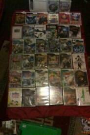 Wii games x 41 plus draw pad