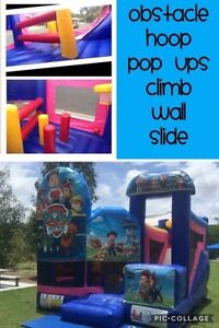 PAW PATROL 5 in 1 combo Jumping Castle $250 Full Day Hire Brisbane South East Preview