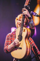 ***HURRY! (2) ED SHEERAN LOWER BOWL TICKETS AVAILABLE FOR SALE!!