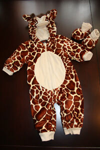 "costume taille 6 mois ""GIRAFFE"" costume size 6 months"