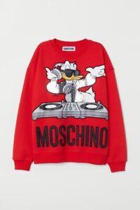 Moschino sweater shirt size xs