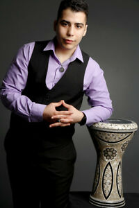 Arabic Doumbek Tabla Player Beeso Available for ALL Weddings!