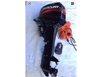 Mercury Tohatsu outboard 2 stroke long shaft set for remotes