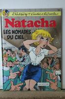 Natacha Tome 13 Les nomades du ciel bande dessinée