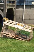 Decorative lobster traps for sale- great condition
