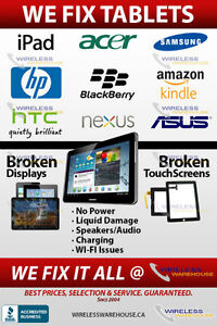 TABLET & IPAD REPAIRS - WIRELESS WAREHOUSE