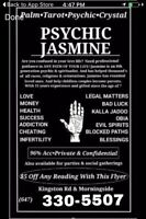 Psychic Jasmine-Call for 2 Free Question