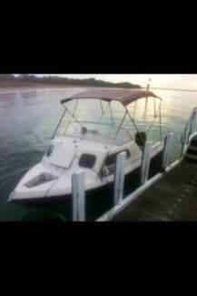 16ft Half Cabin Fishing Boat. 50hp Mercury Freshly Serviced Tootgarook Mornington Peninsula Preview